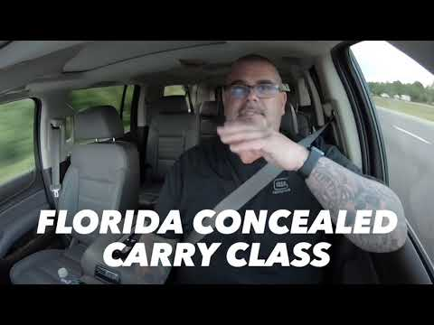 Florida Concealed Carry Classes.