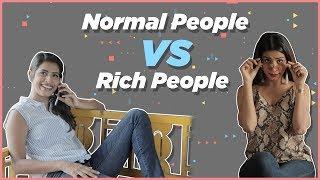 Normal People vs Rich People | Gaelyn Mendonca