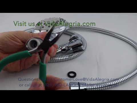 Vida Alegria H5 handheld Flow restrictor removal