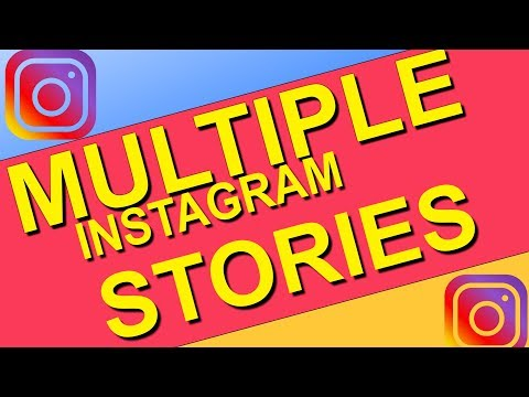 More Than One Instagram Story- Add Multiple Photos/Videos In Instagram Story-How To