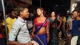 Hot village dance, Telugu hijra recording