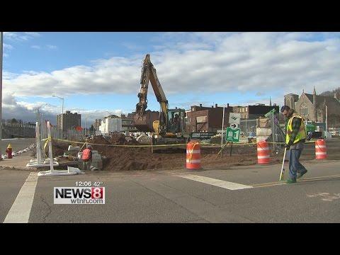 Construction starts on new Meriden transit center