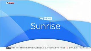 Sky News Sunrise (Opening) - 8th August 2017