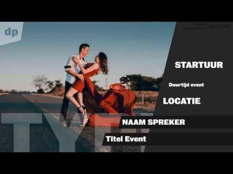Arts Center information screen