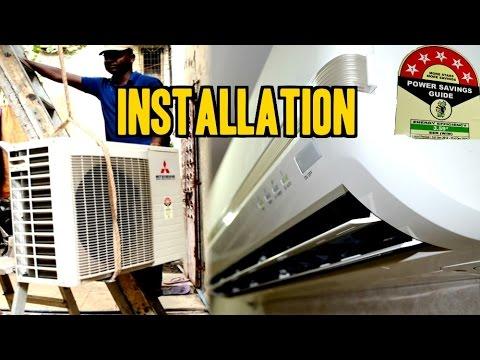 Split Air Conditioner [A/C] INSTALLATION | Mitsubishi [1.5Ton 5 Star SRK 20 CKS-6] | IndianConsumer