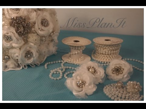 DIY: Create this Brooch Bouquet for under $50.00! Part 2