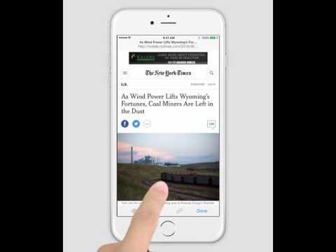 PDF Markup iPhone Tutorial - Highlight Web Pages Using Safari