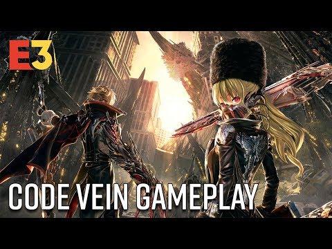 Code Vein is Merciless | E3 2018 Gameplay