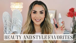 CURRENT BEAUTY AND FASHION FAVORITES | ALEXANDREA GARZA