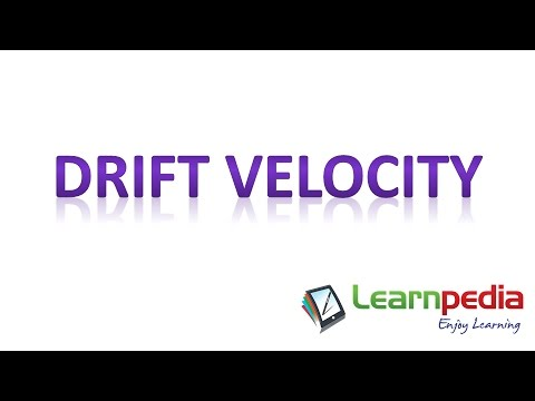Watch this one video and never forget what Drift Velocity is. JEE Physics XI Current Electricity