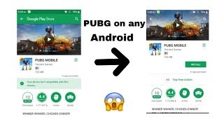 How to download PUBG on any older android devices