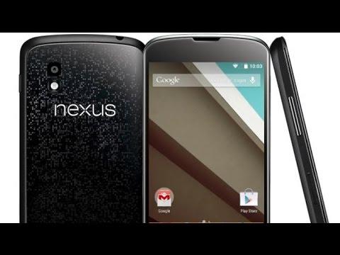 Nexus 4 - ANDROID 5 0 Lollipop + TWRP + ROOT
