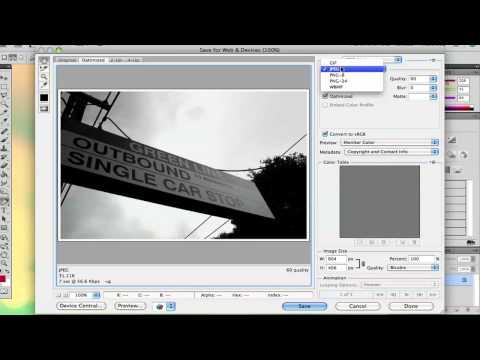 How Do I Convert Photoshop Pics to JPEG? : Adobe Photoshop Tips