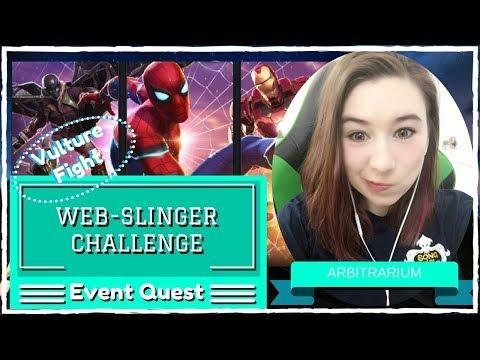 Vulture Fight (Web-Slinger Challenge Part 2) | Marvel Contest of Champions