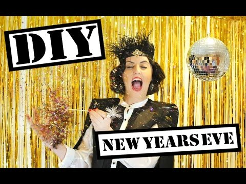 DIY New Years Eve Party