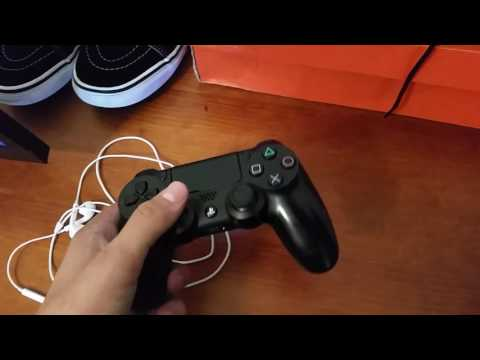 How To Use Apple Earbuds As Mic On PS4 Tutorial
