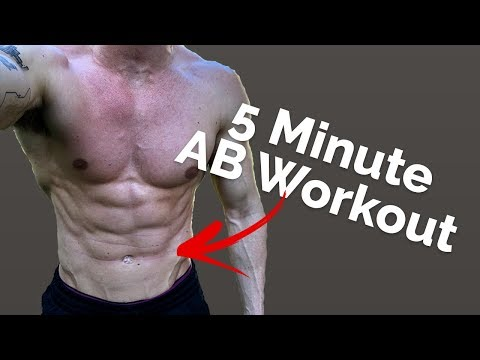 Try This Six Pack Abs Workout at Home (How Many Rounds Can YOU Do?)