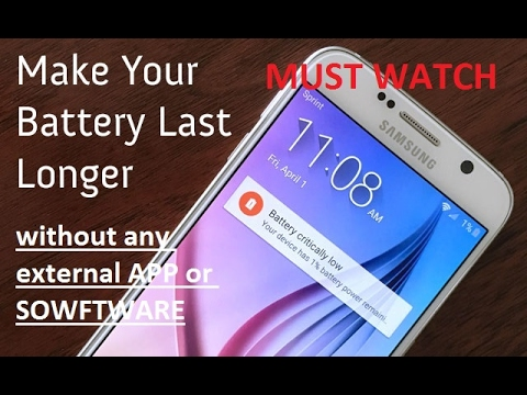 2017 Trick! How to get rid of overnight draining of battery on Samsung and all other devices!
