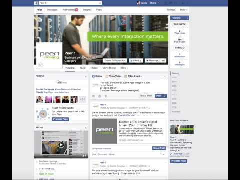 How To Upload Pictures on Facebook Posts