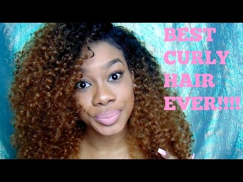 BEST CURLY SYNTHETIC WIG!!!! | Outre Weave Dominican Curly
