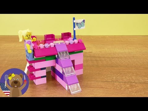 LEGO DIY | Castle Bed with a Slide | Make Your Own Lego