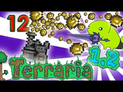 Get Rich Quick with the Extractinator !! - Terraria 1.2 Gameplay - Sybonn Day 12