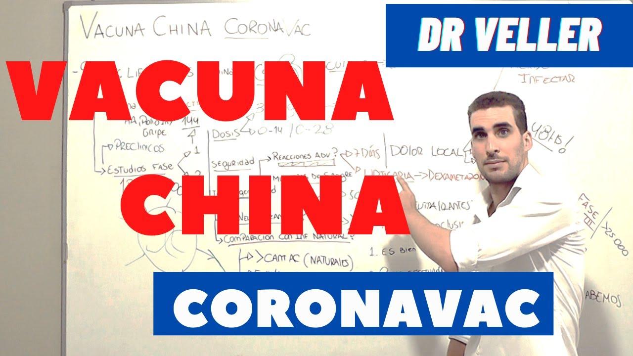 COVID-19  VACUNA CHINA CORONAVAC   RESULTADOS
