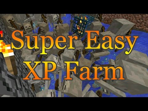 Super Simple XP Farm - Minecraft 1.12.X