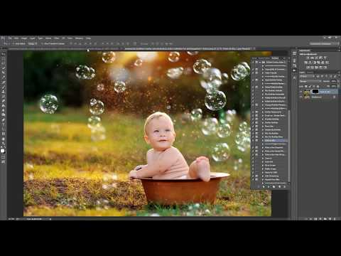 How to Add Bubbles in Photoshop and PSE by Summerana