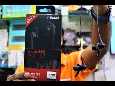 F&D EW201 Wireless Earphone   Unboxing   Review