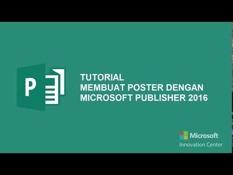 Tutorial Membuat Poster dengan Microsoft Publisher