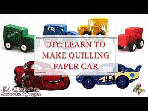 DIY: How to make Quilling