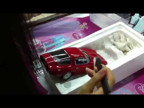 The Making Of AUTOart Die-Cast Models: Applying decals
