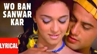 Pankaj Udhas: Wo Ban Sanwar Kar Lyrical Video | Muskaan | Pankaj Udhas Superhit Ghazal