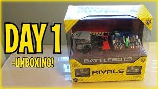 BattleBots - Day 1: Unboxing HEXBUG