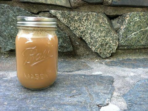 Copycat Starbucks Bottle Frappe - Vanilla