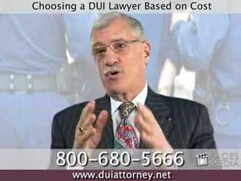 Choosing a Pennsylvania DUI Lawyer Based on Cost