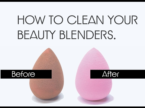 HOW TO: CLEAN BEAUTY BLENDERS | SAVE $$$
