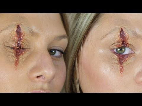 Last Minute Cheap & Easy Halloween Wound