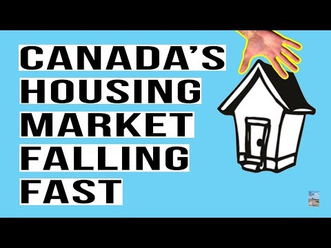 Canada's Real Estate Sales Plunge! BIGGEST DROP SINCE 1989! Toronto and Vancouver Meltdown!