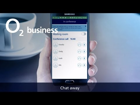How to get hassle-free conference calls with O2 Just Call Me