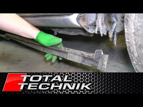 How to Remove Side Skirt Mount Brackets - Audi A6 S6 RS6 - C5 - 1997-2005 - TOTAL TECHNIK