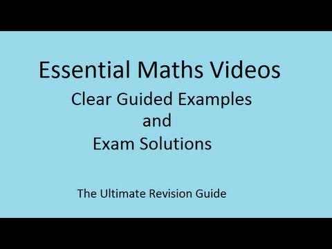Linear Sequences and nth terms - GCSE maths revision video