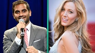Aziz Ansari Reads The Embarrassing Text Messages He Sent to Blake Lively