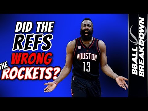 Did The Refs Wrong The Rockets?