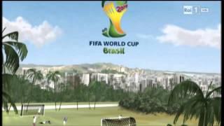 Promo Rai Brasile 2014 + Raccolta Bumper FIFA