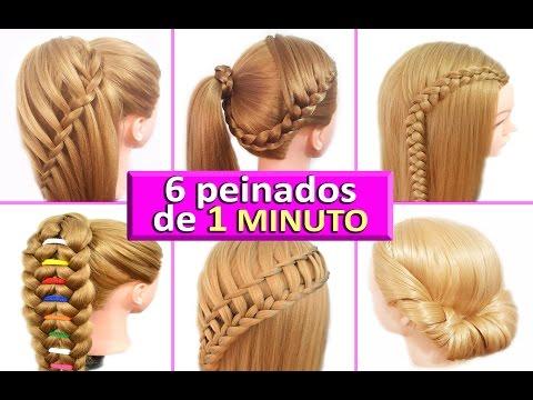 6 Peinados Faciles Para Cabello Largo Peinados Novias