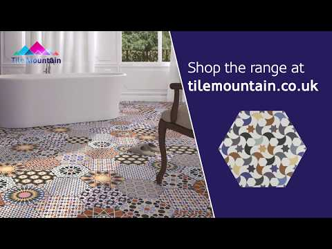 Quick Look: Andalucia Patterned Porcelain Wall And Floor Tile (440650) - Tile Mountain