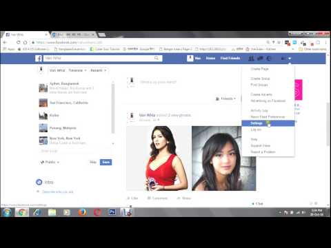 How to change facebook eamil and password