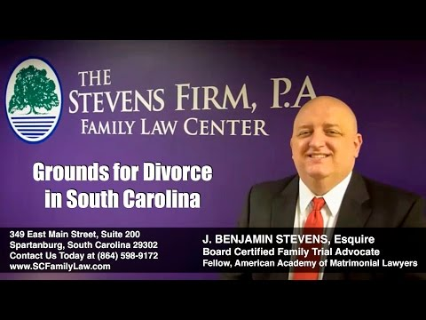 What Grounds For Divorce Are Recognized By South Carolina?